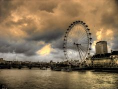 The South Bank and London Eye - London