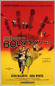 1956, Invasion of the Body Snatchers (only the original works)