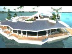 Esta isla móvil podría ser la casa de tus sueños... eso sí, prepara 3,6 mill de €!!