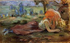 Pastora descansando, 1891 - Berthe Morisot