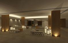 CJC Interior Design | Hotel Crowne Plaza | Lobby | Elegant | Algarve