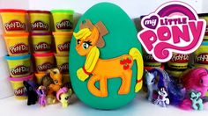 www.youtube.com/user/disneytoybox?sub_confirmation=1 My Little Pony Friendship is Magic Applejack Play Doh Surprise Egg Mystery Minis MLP Micro Lites