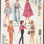 ÓTIMO !!!! muitos moldes para Barbie !!!