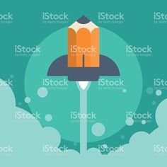 Business Start up launch concept royalty-free stock vector art Flat Design, Modern Design, Free Vector Art, Starting A Business, Image Now, Royalty, Product Launch, Concept, Creative