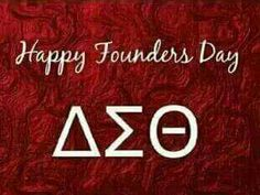 HaPPy Founder's Day to my Sorors of Delta Sigma Theta Sorority!  ΔΣΘ ♥ 01.13.1913