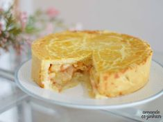 Tapas, Apple Pie, Food And Drink, Pudding, Desserts, Nova, Recipes, Quiches, Cake Roll Recipes
