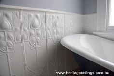 Decorative aluminium panels look so classy in this style of project. This is the ever popular Art Nouveau design.