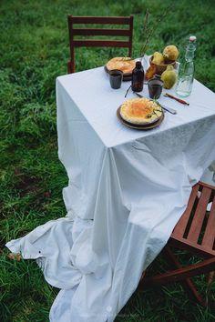 Breakfast on fields - Pumpkin pie! / Marta Greber