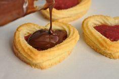 galletas de mermelada y choolate
