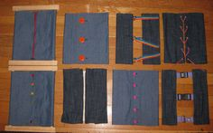 DIY cadres d'habillage, instructions pour fabriquer le cadre et les panneaux de tissus.