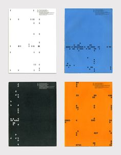 Yves José Zimmerman, cover designs for Typografische Monatsblätter, 1958