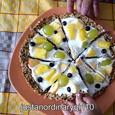 Healthy Pizza, Healthy Food, Healthy Recipes, Bananas, Fruit Salad, Cinnamon, Cups, Baking, Videos
