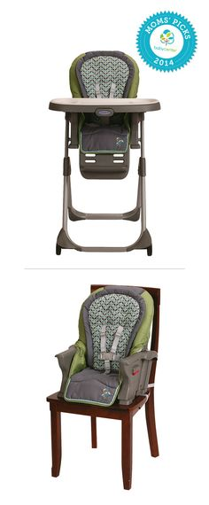 A BabyCenter Top Pick, the Graco DuoDiner highchair adjusts as your baby grows from infant to toddler. It then converts to a space-saving booster, offering you years of use.
