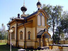 Tornion ortodoksinen Pyhien apostolien Pietarin ja Paavalin kirkko.(Kuva © Jarmo Huttu)