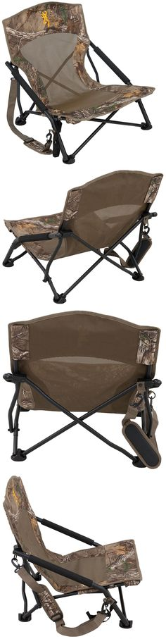 Camping Furniture 16038: Browning Outdoor Camouflage Folding Chair Duck Deer Hunting Bow Camping Sit New! -> BUY IT NOW ONLY: $46.65 on eBay!