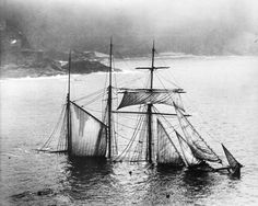 Mildred  Struck under Gurnard's Head in thick fog at midnight, April 6th, 1912.  She was carrying slag from Newport to London. When she began to  pound broadside on, the captain and crew launched a boat and rowed  along the cliffs to St Ives. The Mildred, Cornish built and owned,  was launched in 1889.