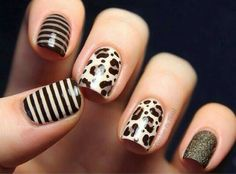 Safari nail design