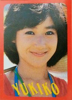 岡田有希子 DUNK付録シール 1985年1月号