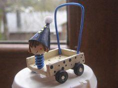 Miniaturas y casas de muñecas: Calendario de adviento. Dia 20. Correpasillos de Isa