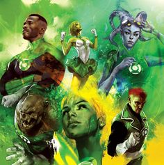 Green Lantern - Lost Army by Ben Oliver *