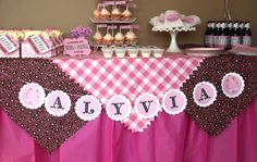 cowgirl up party decor -