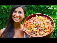 Rainbow Coleslaw with FullyRaw Mayonnaise! | FullyRaw