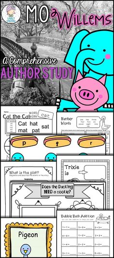 Elephant \ Piggie Activities \ Printables! TheTeacherTreasury - new mo willems coloring pages elephant and piggie