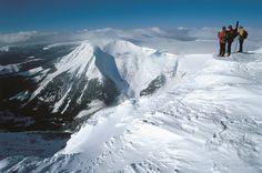 Studnioční hora v zimě