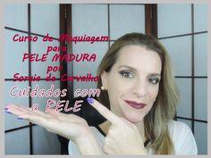 Cuidados diários para PELE MADURA   - Curso de Maquiagem para Pele Madur...
