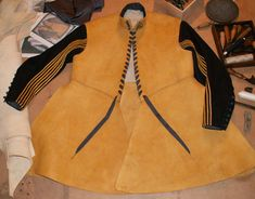 Buff Coat (reproduction). Based on example in the Littlecote collection (Royal Armouries Museum). Made by Karl Robinson.