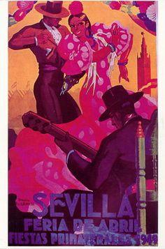 affiche feria 1949