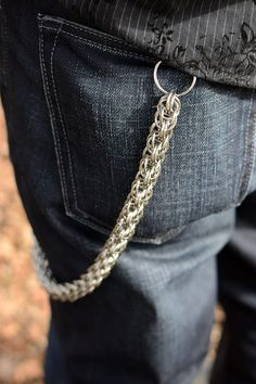 Men's Stainless Steel Chainmaille Chain by twinsoulartstudio, $99.00