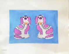Lycette Designs, LD522, Staffordshire Dogs