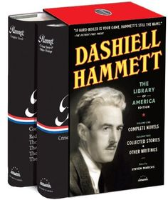 Here, for the first time in a deluxe collectors box, is the most comprehensive edition of the hard-boiled crime fiction of Dashiell Hammett ever published. Complete Novels , the first of two volumes g Used Books, Books To Read, Buy Books, Dashiell Hammett, Classic Library, Library Of America, Crime Fiction, American Literature, Paperback Books
