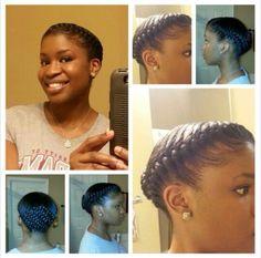 Amazing Jazitup Thenubiancrown Black Hairstyles Pinterest Hair Hairstyles For Women Draintrainus