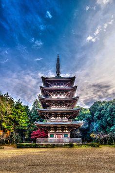 Pagoda, Daigo-ji Temple, Kyoto, Japan