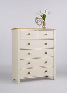 This Solid Camden 2 Over 4 Deep Chest With 2 Over 4 Drawers Ash Knob Finish's EAN code is 5.05373E+12 and the weight of this product is 43.00kg. The height is 118cm and the width is 96cm. It is Painted Finish and there are 2 Over 4 Drawers. It is the part of Camden Painted range from Ametis.  It has beautiful Ash Knob Finish. It is Incredible value for money range, crafted using traditional carpentry methods. When we asked the manufacturer if this Solid Camden 2 Over 4 Deep Chest With 2…