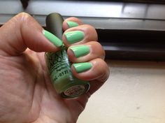 OPI YOU ARE SO OUTTA LIME