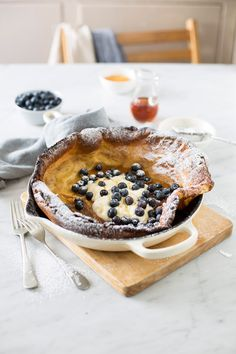 Dutch baby pancake w