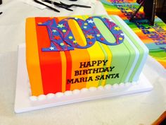 Big and bright - that's how you celebrate 100 years! #carlosbakery #celebratewithcarlos