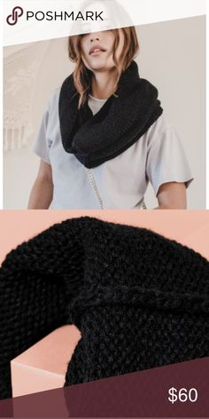 Plush Chunky Knit Neckwarmer Stay warm and look cute doing it. This neckwarmer is perfect for a breezy day out on the town and easy to throw on before heading out the door. Accessories Scarves & Wraps