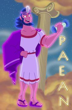 Disney Hercules Ares Iwate Kokyo