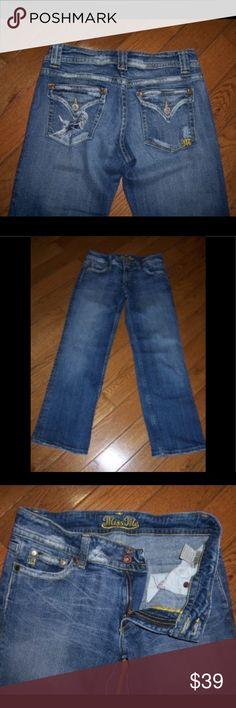 053f0395e425 MISS ME LUCY WINDSOR Jeans blue rhinestone 27