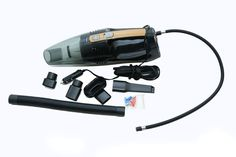 The Autofurnish Destorm AF-6530 Vacuum Cleaner & Tyre Inflator has both the functionalities of a vacuum cleaner as well as a tire inflator. It features a detachable suction nozzle that can suck in tiniest particle of dust with its strong suction. It can also be used as an inflator and to test tyre pressure. You can easily attach the air hose to inflator air output valve stem and connect the air hose to tire valve. It's very convenient and easy to handle.