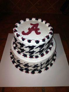 game day!! bama cake