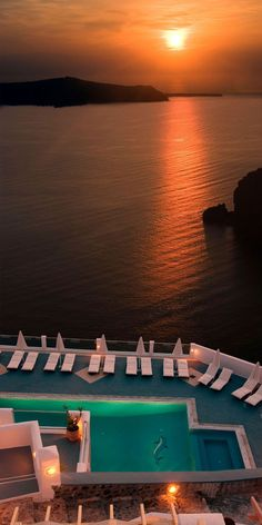 Santorini is popular for its lovely white washed houses, spectacular sea views, breathtaking sunsets, and the active volcano.