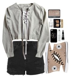 """✨✨"" by niamtz on Polyvore featuring Topshop, Converse, Davines, Japonesque, NARS Cosmetics and Sisley"