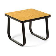 Sled Base Lounge End Table TABLE2020 Oak
