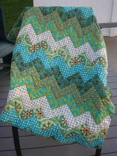 Ginger Blossom.  Such a simple pattern.  The color choices make this quilt very attractive.
