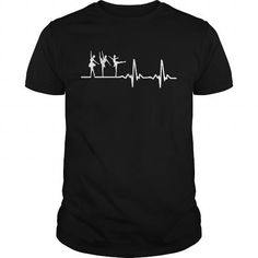 Cool and Awesome Ballet dancer Heartbeat Shirts Shirt Hoodie